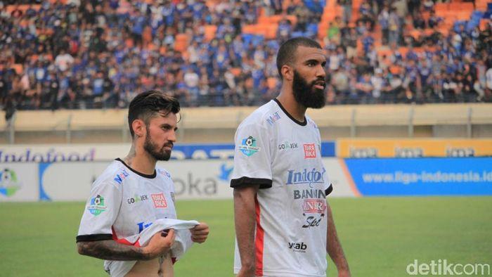 Bali United mengimbangi Persib Bandung 0-0 (Wisma Putra/detikSport)