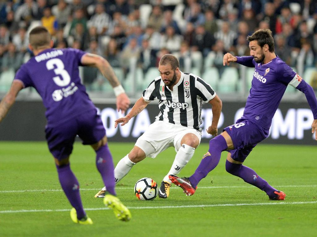 Juve Fokus Bidik Tiga Poin dari Fiorentina, soal Spurs Nanti Dulu