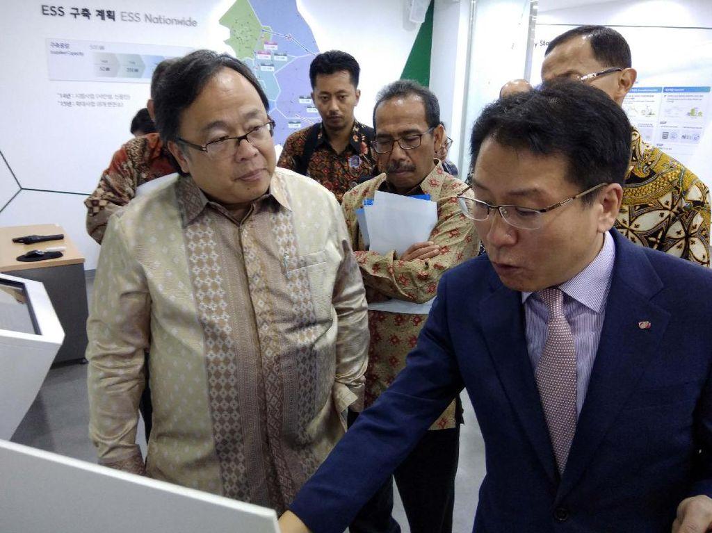 Menteri Bappenas Kunjungi Fasilitas Energi Korea Selatan