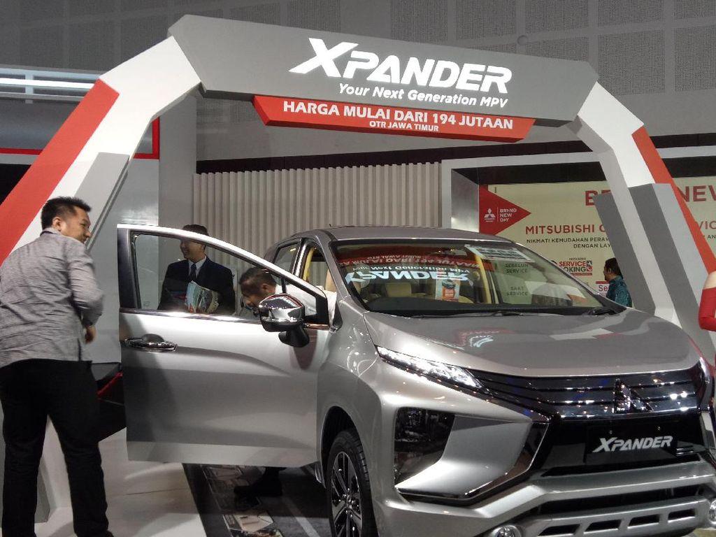 Mitsubishi Xpander Mejeng di Surabaya