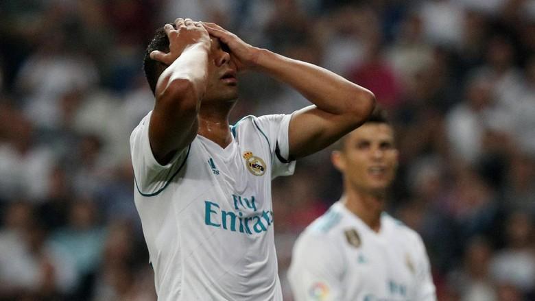 Madrid Ditekuk Betis, Casemiro: Kami Tidak Beruntung