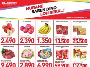 Promo Ayam & Daging Sapi di Transmart Rungkut Surabaya