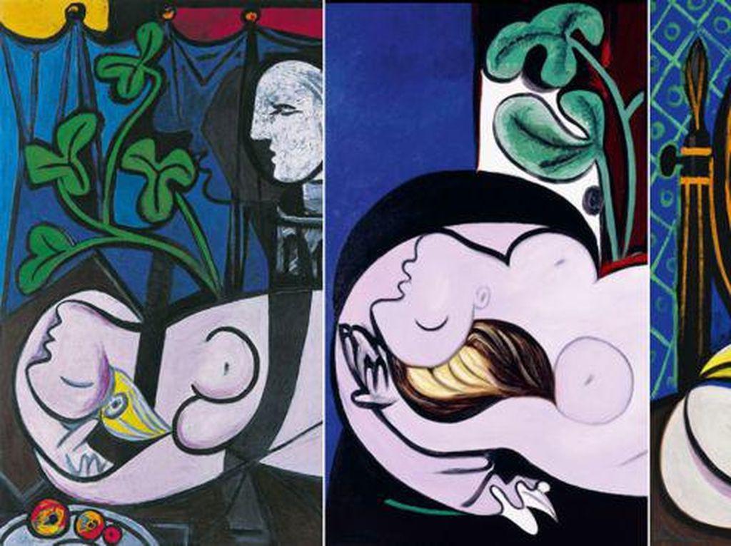 Tiga Lukisan Telanjang Picasso Dipajang Pasca 85 Tahun Hilang