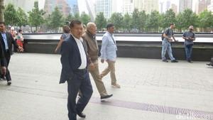 Kunjungi Museum 9/11, JK: Konflik Kemanusiaan yang Jadi Teror