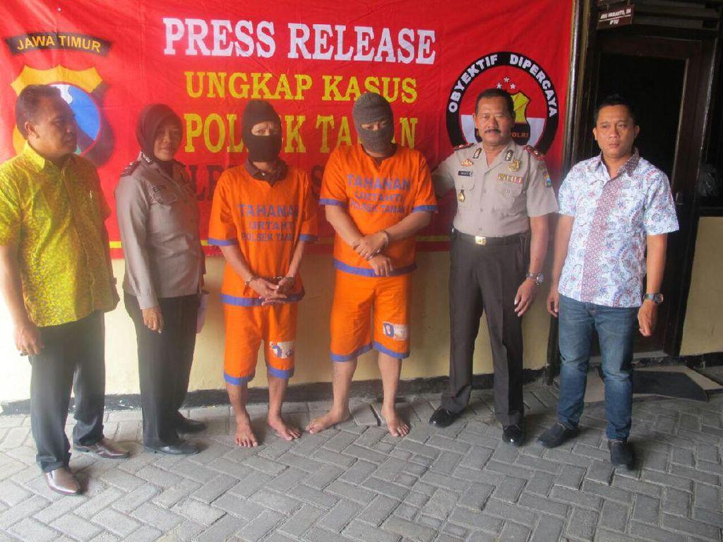 Buron 2 Tahun, Dua Begal ini Ditangkap saat Pulang