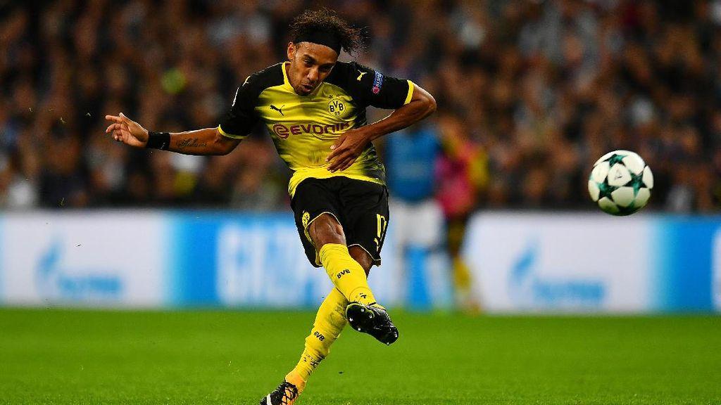 Di Tengah Rumor Transfer Arsenal, Aubameyang Kembali Diparkir Dortmund