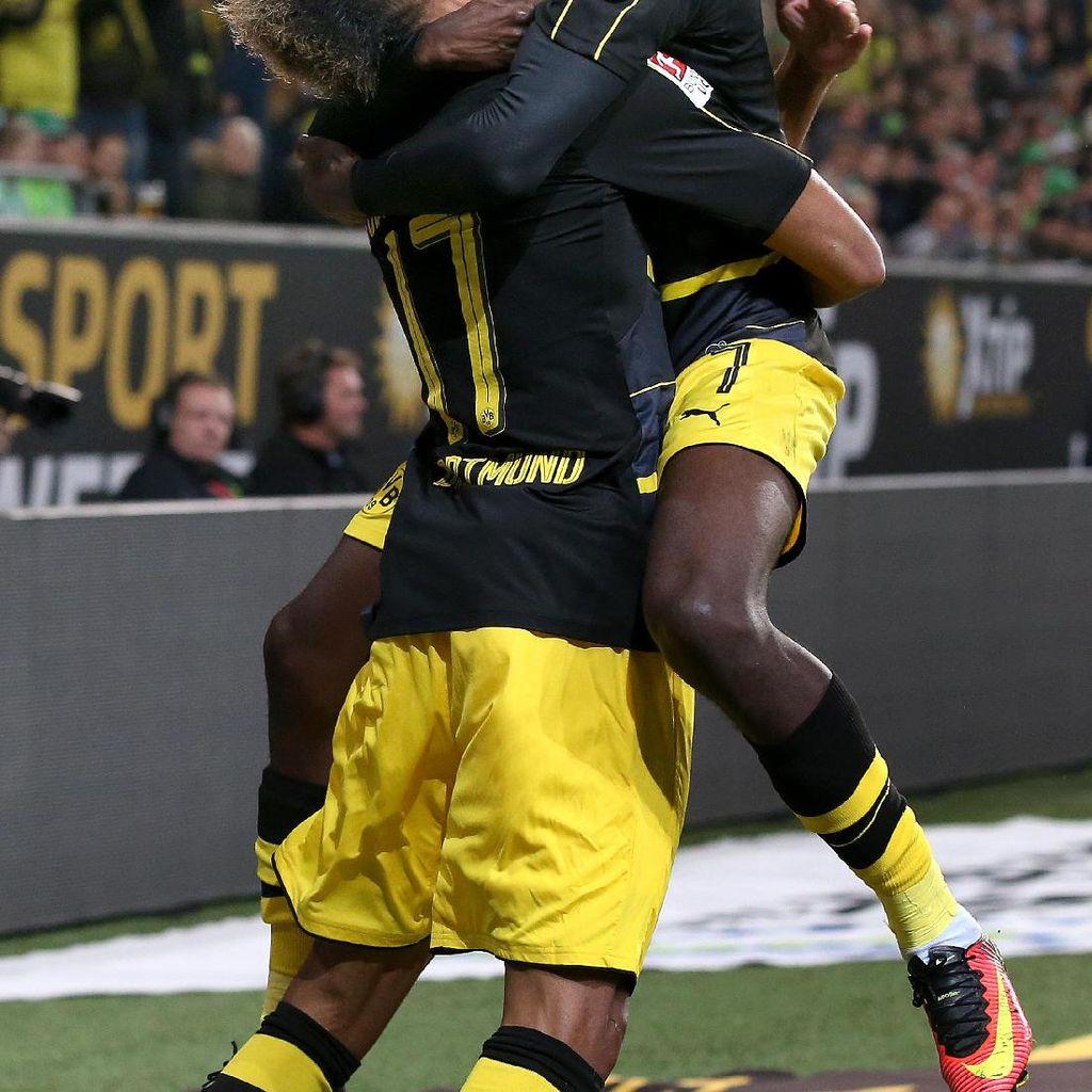Aubameyang Enggan Kritik Dembele terkait Kepergiannya dari Dortmund