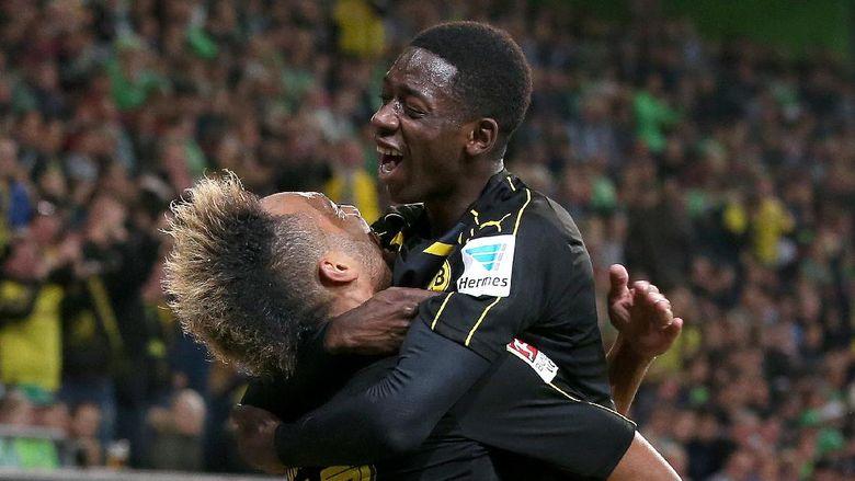 Aubameyang Tidak Mau Berkomentar Tentang Kepergian Dembele Dari Dortmund