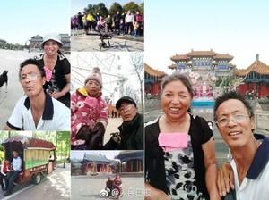 Kisah Romantis Suami Setia Ajak Istri yang Lumpuh Tur Nasional Pakai Bajaj