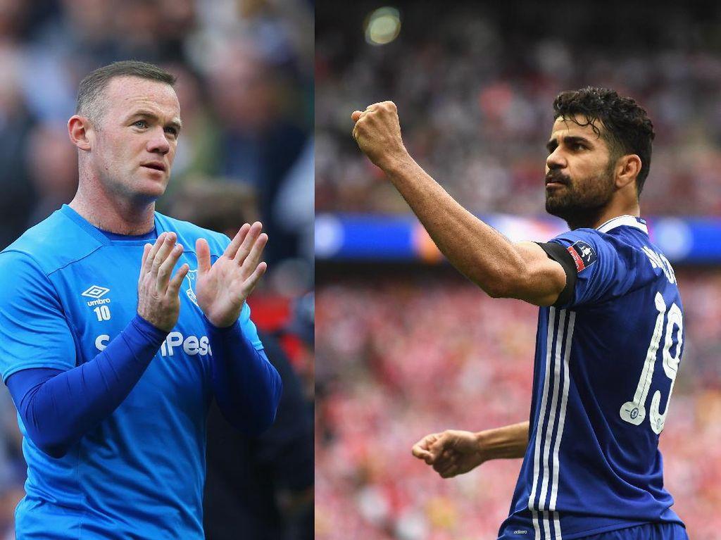 Costa, Rooney, dan Mereka yang Pulang ke Klub Lamanya