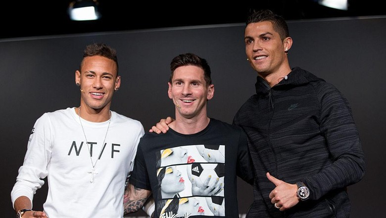 Adu Kencang Messi, Ronaldo, dan Neymar