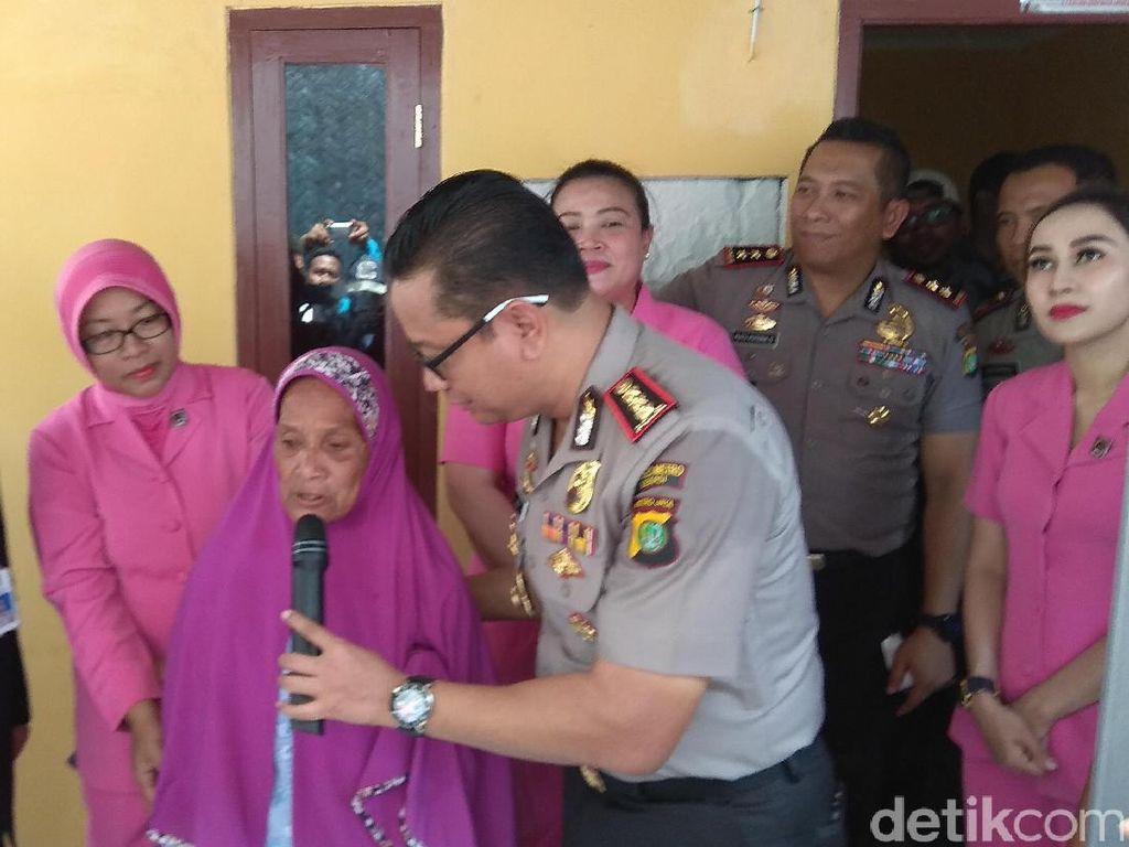 Gubuk Reyot Nenek Asiah di Bekasi Rampung Dibedah
