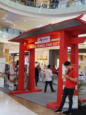 Aneka Promo Tur dalam Negeri di Mega Travel Fair Yogyakarta