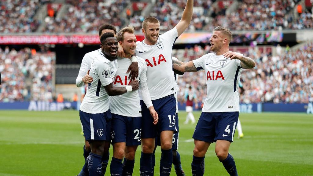 Kane Dua Gol, Spurs Menang Tipis atas West Ham 3-2