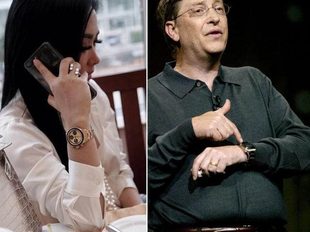 Membandingkan Koleksi Jam Tangan Syahrini dan Bill Gates