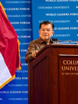 Di World Leader Forum, JK Bantah Agama Sebagai Akar Konflik