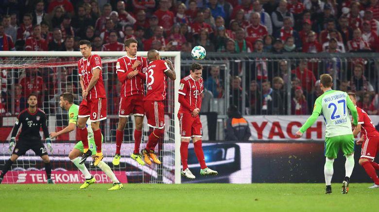 Sempat Unggul Dua Gol, Bayern Ditahan Wolfsburg
