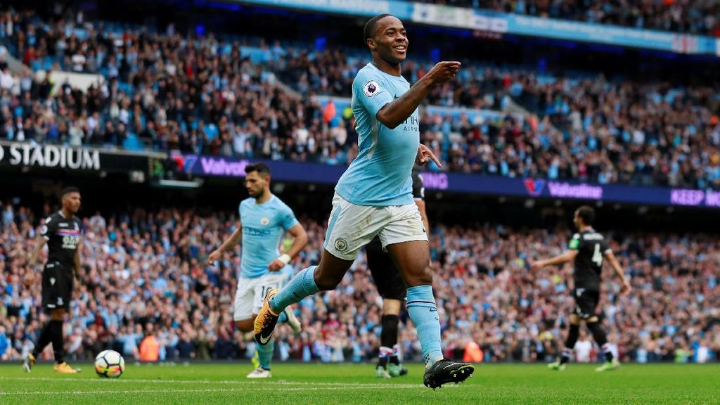 City Hantam Crystal Palace 5-0