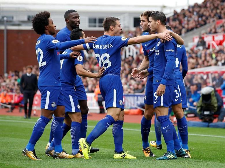 Conte Puas dengan Kemenangan Chelsea, Puji Morata
