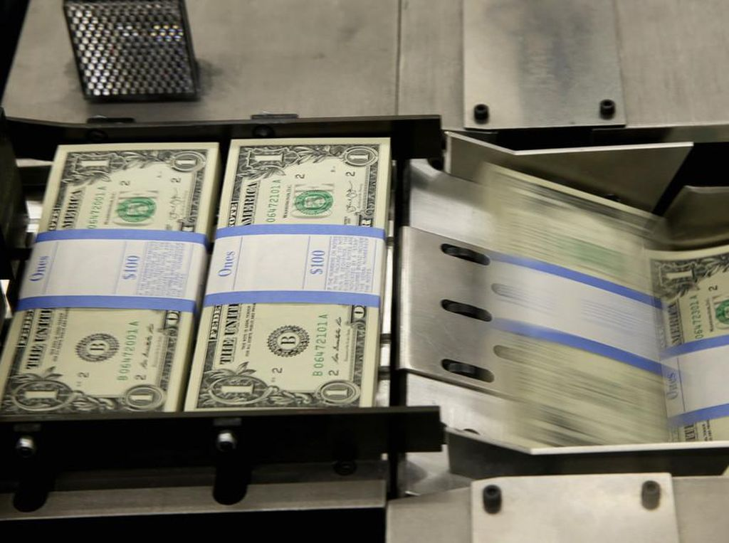 Stimulus Berlebihan Bikin Defisit Anggaran AS Membengkak