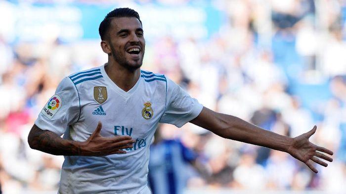 Pemain Real Madrid, Dani Ceballos. (Foto: Vincent West/Reuters)