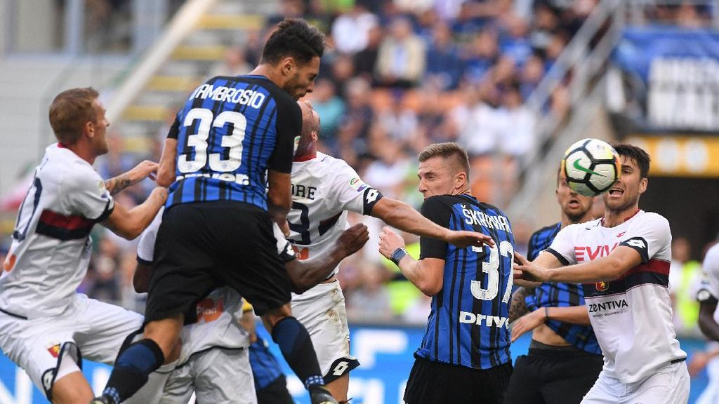 Inter Susah Payah Taklukkan Genoa