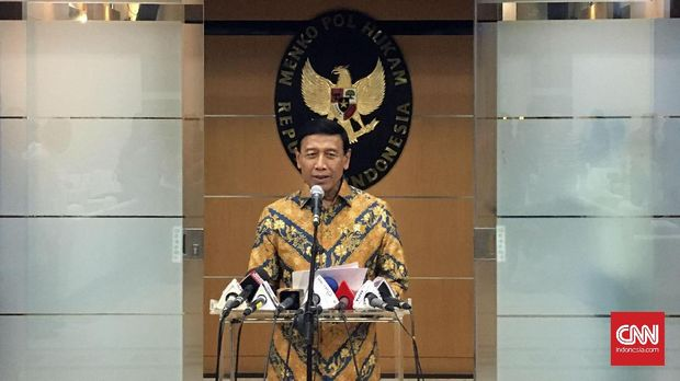 Wiranto Minta Spekulasi soal 500 Senjata Dihentikan