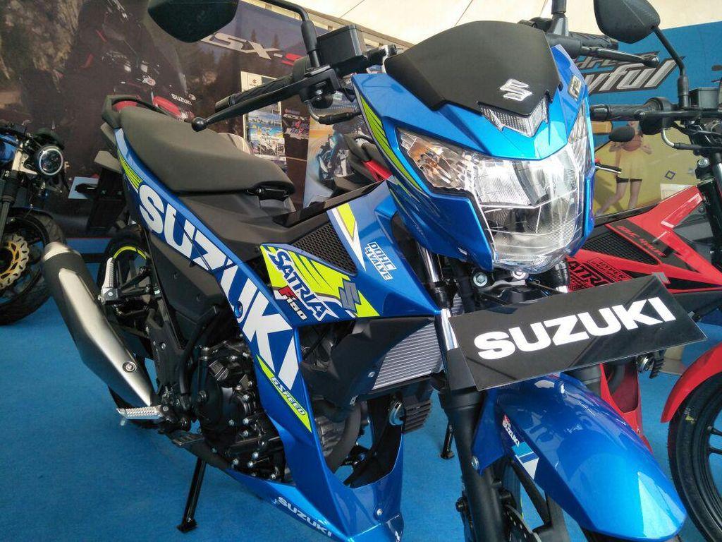 Suzuki Satria F150 Pakai Baju Baru, Mirip Motor Suzuki di MotoGP