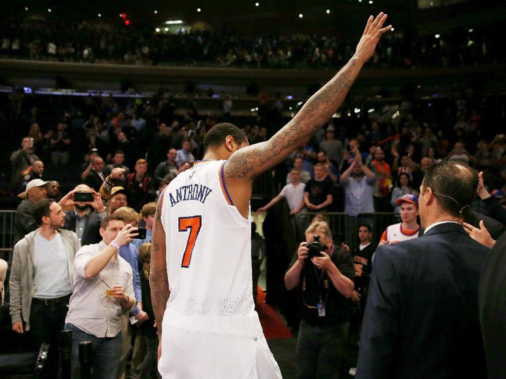 Carmelo Anthony Merapat ke Thunder