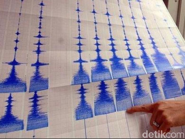 Gempa 6,8 SR Guncang Lombok Utara NTB