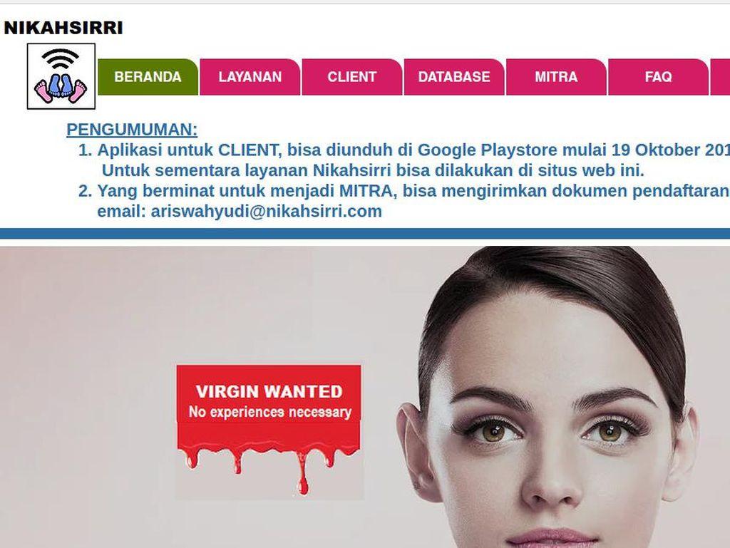 Soal Situs nikahsirri.com, Orang Tua Diimbau Waspada