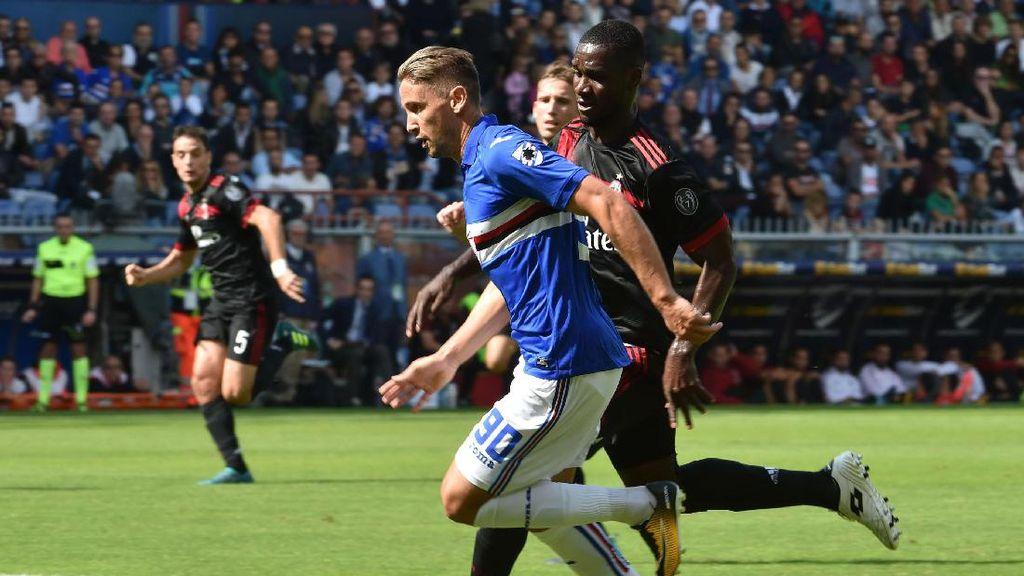AC Milan Tak Berdaya di Markas Sampdoria
