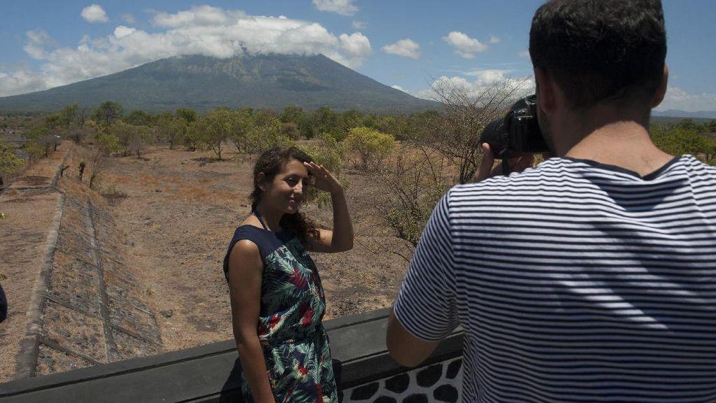 Gunung Agung yang Masih Jadi Magnet Turis