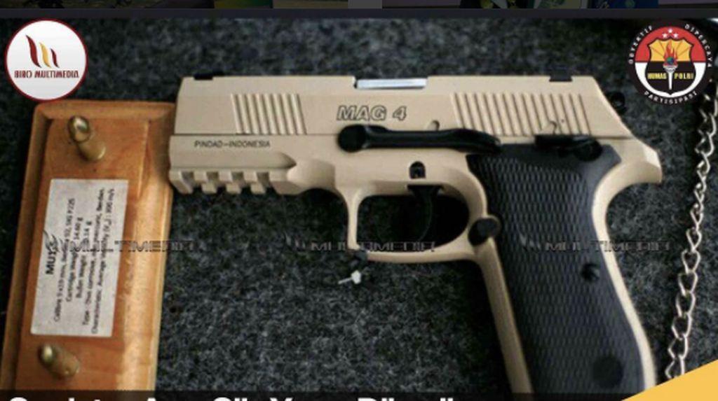 Butuh 15.000 Pistol, Polri: Untuk Polantas dan Patroli
