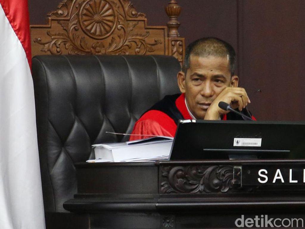 Hakim MK dari Unsur Presiden Kompak Nilai KPK Tak Bisa Diangket