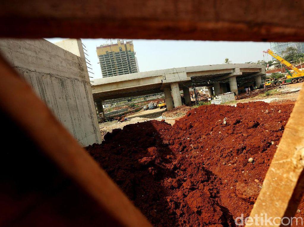 Simpang Susun Tol Desari Mulai Dibangun