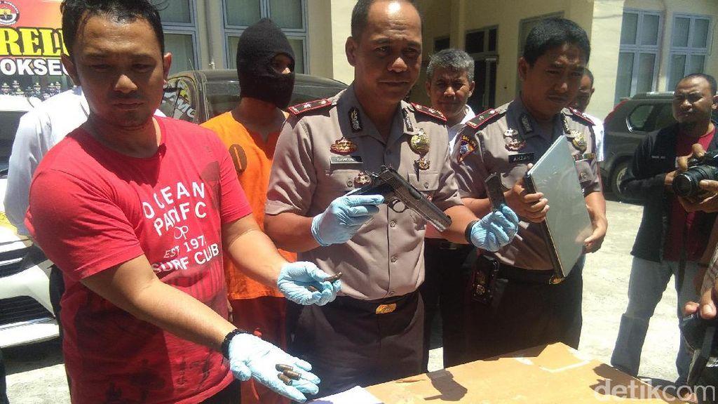 Residivis Kasus Teroris di Aceh Ditangkap, Pistol FN Disita