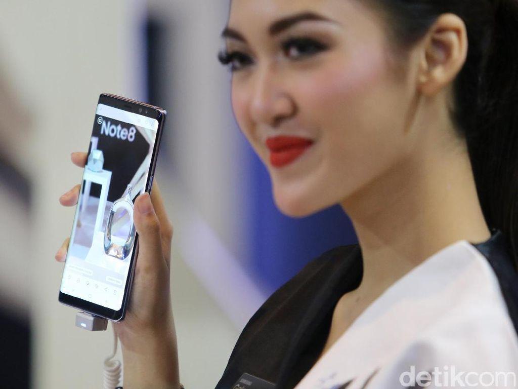 Perkuat Note 8, Samsung Gandeng Augmented Reality Google
