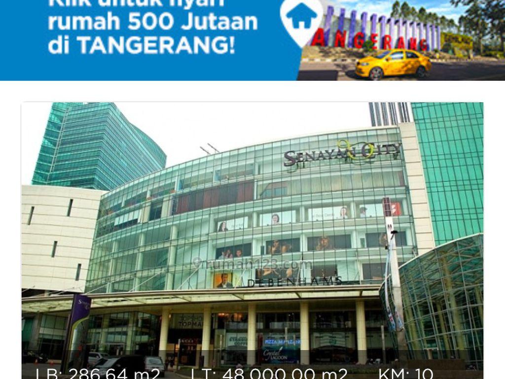 Mal Senayan City Dijual Rp 5,5 Triliun di Situs Jual-Beli Online?