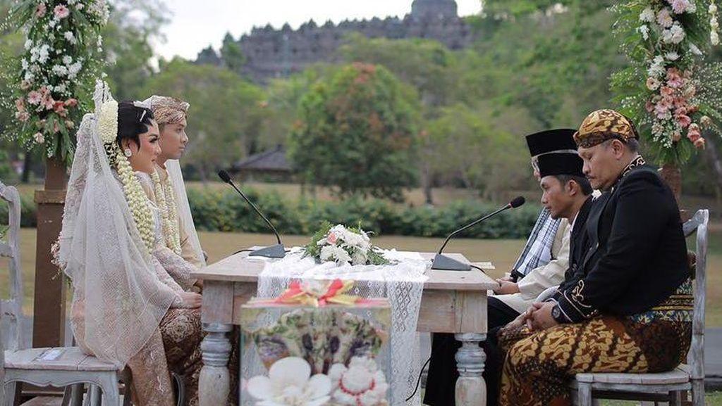 Vicky Shu Menikah di Candi Borobudur, Ini Biaya Sewanya