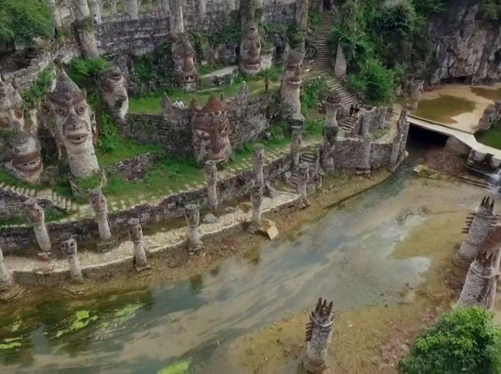 Foto: Kastil yang Dibangun karena Rindu Kampung Halaman