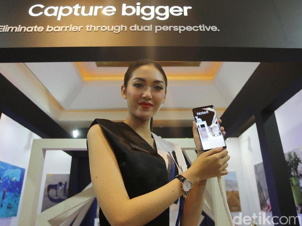 Pemesan Note 8 di Indonesia Lampaui Galaxy S8