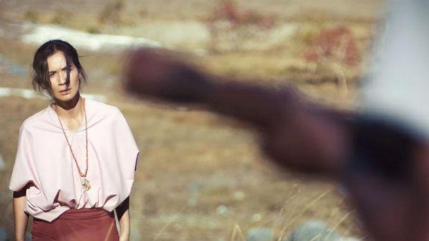 Marsha Timothy dalam 'Marlina si Pembunuh dalam Empat Babak.'