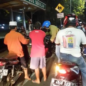 ABG Terlibat Kecelakaan di Jl TB Simatupang Jaksel, Tak Ada Korban