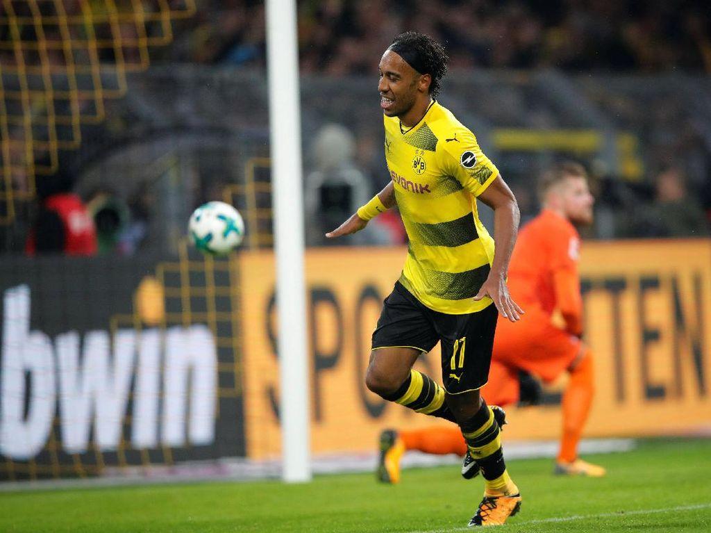 Dortmund Ingin Polemik Transfer Aubameyang Lekas Selesai