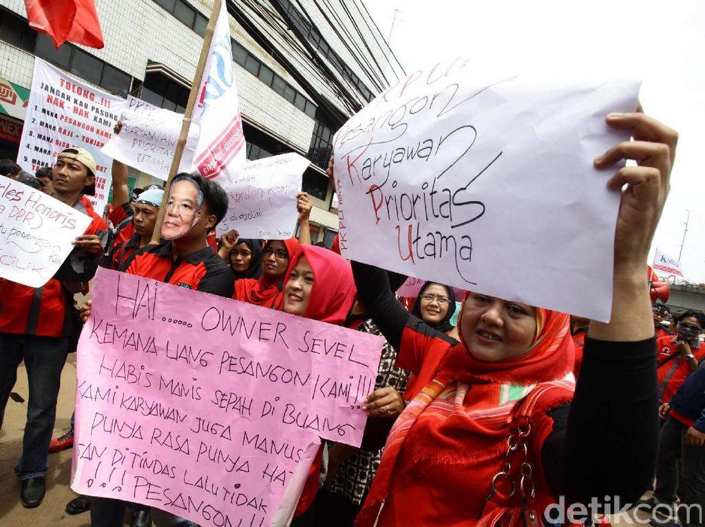Tagih Pesangon, Eks Karyawan Sevel Demo Besok