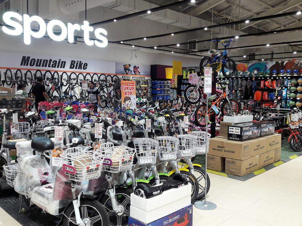 Mulai Rp 999 Ribu, Sepeda Diskon 20% di TransmartCarrefour