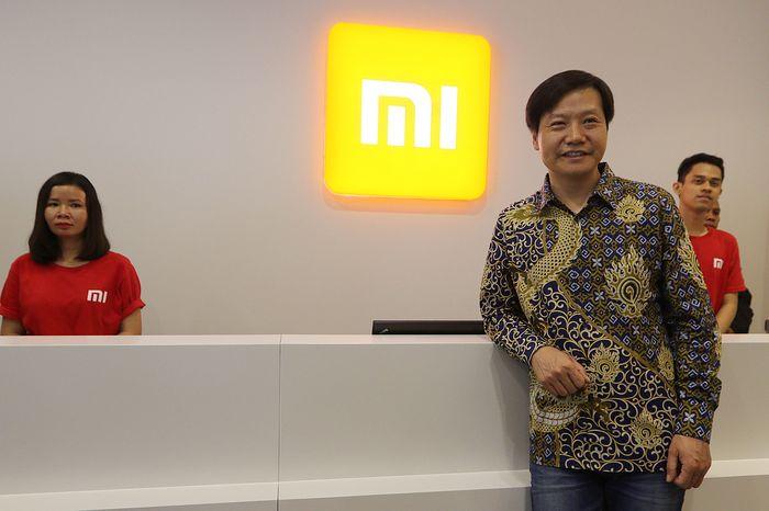 Lei Jun dikala di Indonesia. Foto: dok. Xiaomi