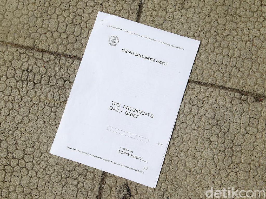 Foto: Ini Dokumen Bukti CIA Pantau G30S/PKI