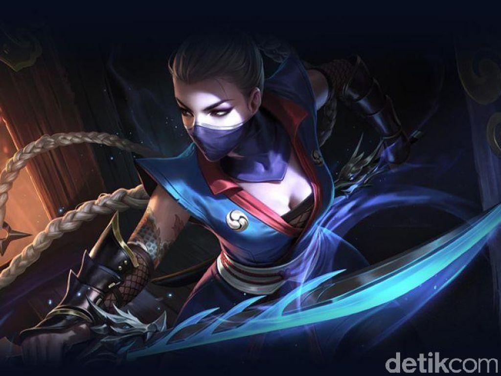 Perkenalkan Airi, Ninja Maut yang Cantik Jagoan AoV